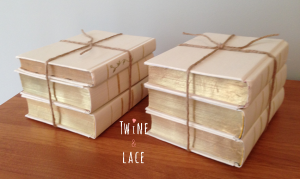 Twine and Lace Vintage Wedding Rentals Books