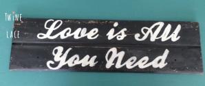 Love Sign for Wedding Rental