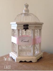 Wedding Card Holder Bird Cage